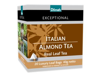Dilmah Exceptional Italian Almond, 20 zakjes (40 gram)