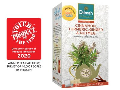 Dilmah Infusion Turmeric Ginger Nutmeg