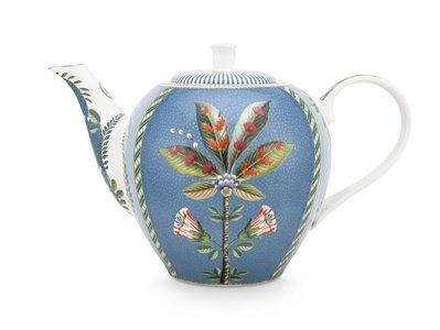 Pip Studio La Majorelle Blue Teapot Large