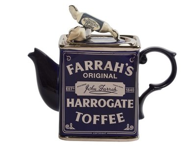 Farrahs Harrogate Toffee Inn Theepot