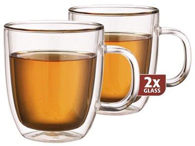 Thermo-glazen set van twee: Extra Tea 480 ml