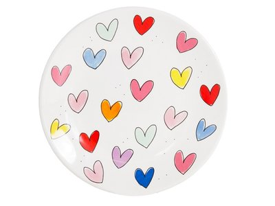 Blond Amsterdam plate 22 cm Hearts