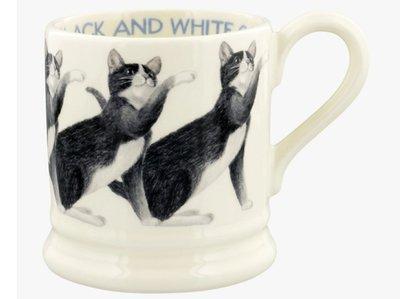 Emma Bridgewater Black and White Cat Mug