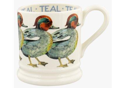 Emma Bridgewater Birds Teal Mug
