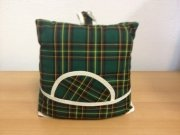 Teacosy with basket: Scottish Green